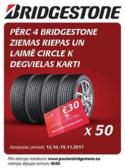 Bridgestone loterija 2017